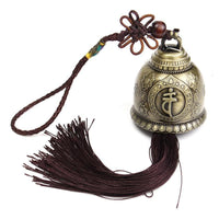 Vintage Buddha Wind Chime With Tassel Wind Catcher