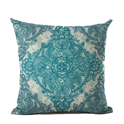 Vintage Flower Mandala Cushion Covers 45x45cm / 10 Bed Sheets