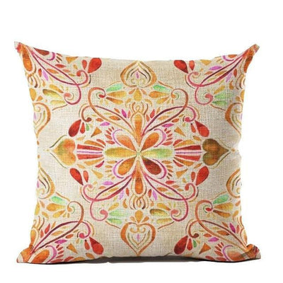 Vintage Flower Mandala Cushion Covers 45x45cm / 11 Bed Sheets