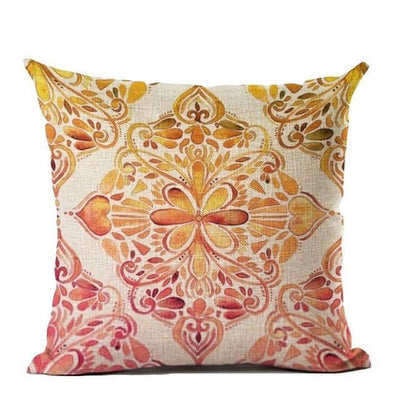 Vintage Flower Mandala Cushion Covers 45x45cm / 12 Bed Sheets