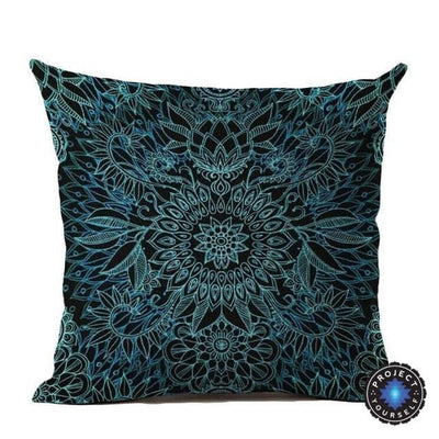 Vintage Flower Mandala Cushion Covers 45x45cm / 13 Bed Sheets