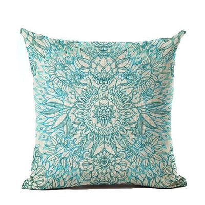Vintage Flower Mandala Cushion Covers 45x45cm / 14 Bed Sheets