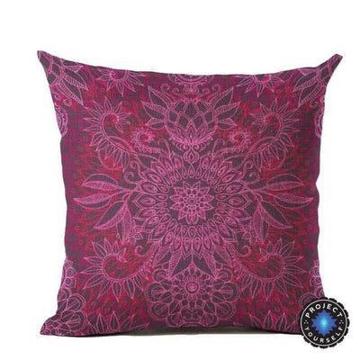 Vintage Flower Mandala Cushion Covers 45x45cm / 15 Bed Sheets