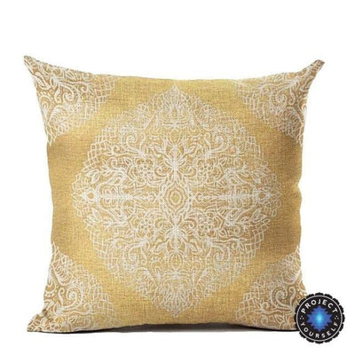 Vintage Flower Mandala Cushion Covers 45x45cm / 17 Bed Sheets