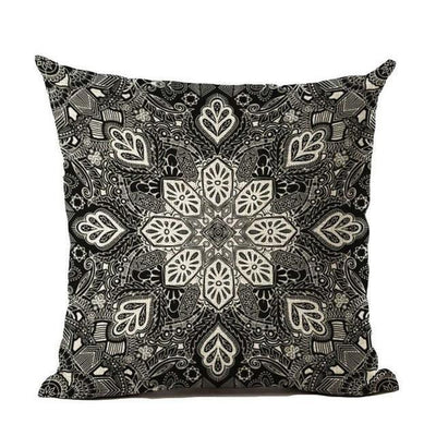 Vintage Flower Mandala Cushion Covers 45x45cm / 20 Bed Sheets