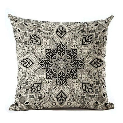 Vintage Flower Mandala Cushion Covers 45x45cm / 21 Bed Sheets