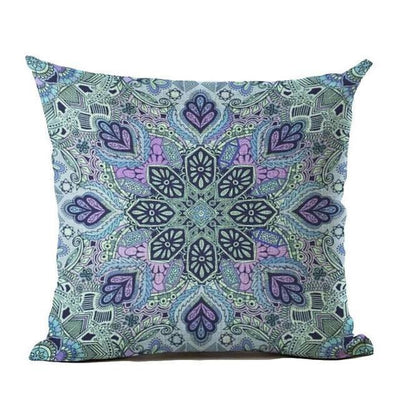 Vintage Flower Mandala Cushion Covers 45x45cm / 22 Bed Sheets