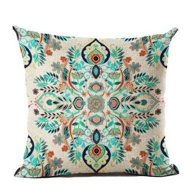Vintage Flower Mandala Cushion Covers 45x45cm / 6 Bed Sheets