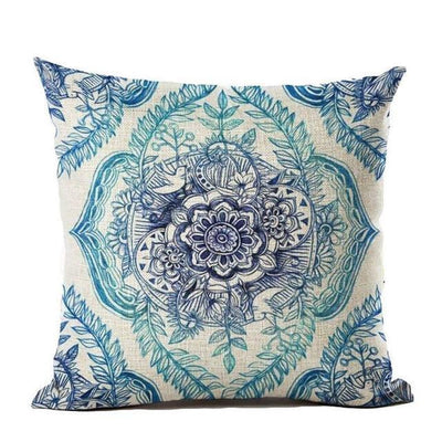 Vintage Flower Mandala Cushion Covers 45x45cm / 7 Bed Sheets