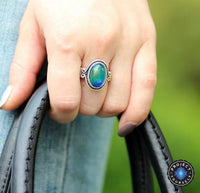 Vintage Glass Mood Ring Rings