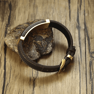 Vintage Tiger Eye Genuine Leather Bracelet Bracelet