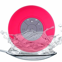 Waterproof Suction Cup Speaker Pink Speakers