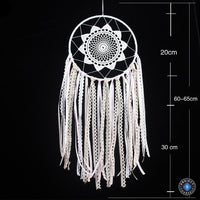 White Lace Mandala Dream Catcher Dreamcatchers