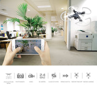 WIFI Smartphone App Control Mini Quadcopter Drone with 0.3MP Camera Toys