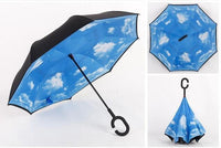 Wind Proof Reverse Folding Umbrella Clouds Accessories