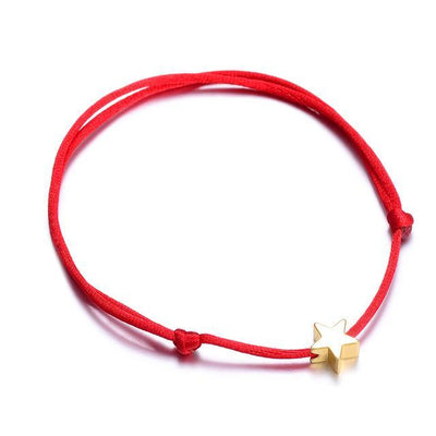 Wishes Lucky Handmade Rope Bracelet Red Bracelet