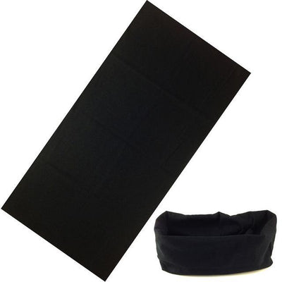 Yoga Stretch Headwrap Headband Bandana Black Headband