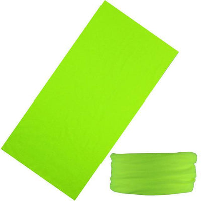 Yoga Stretch Headwrap Headband Bandana Bright Green Headband