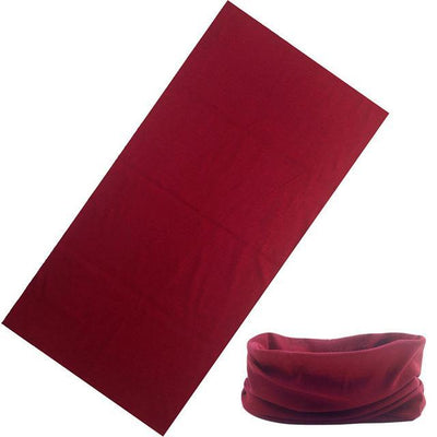 Yoga Stretch Headwrap Headband Bandana Burgundy Headband