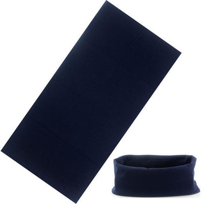Yoga Stretch Headwrap Headband Bandana Navy Headband