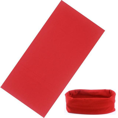 Yoga Stretch Headwrap Headband Bandana Red Headband