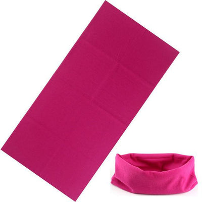 Yoga Stretch Headwrap Headband Bandana Rose Headband