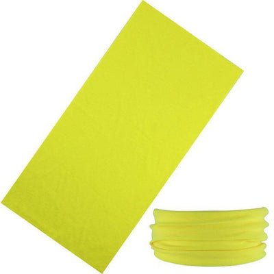 Yoga Stretch Headwrap Headband Bandana Yellow Headband