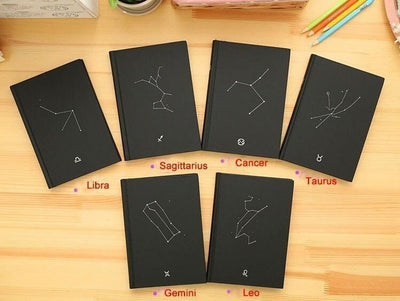 Zodiac Constellation Vintage Diary Accessories