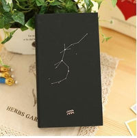 Zodiac Constellation Vintage Diary Aquarius Accessories