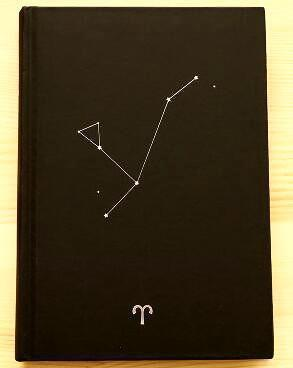 Zodiac Constellation Vintage Diary Aries Accessories
