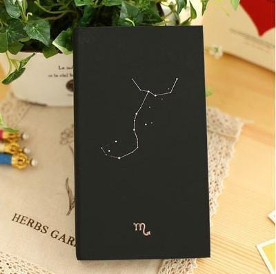 Zodiac Constellation Vintage Diary Scorpio Accessories