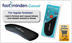 Footminders Casual Orthotic Insoles
