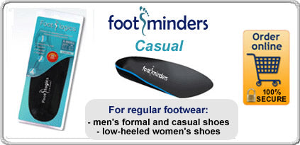 Footminders Catwalk Orthotics for Women's Footwear