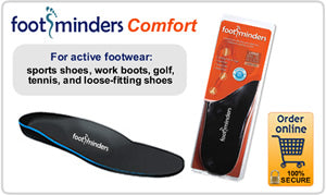 Footminders Comfort Orthotic Insoles