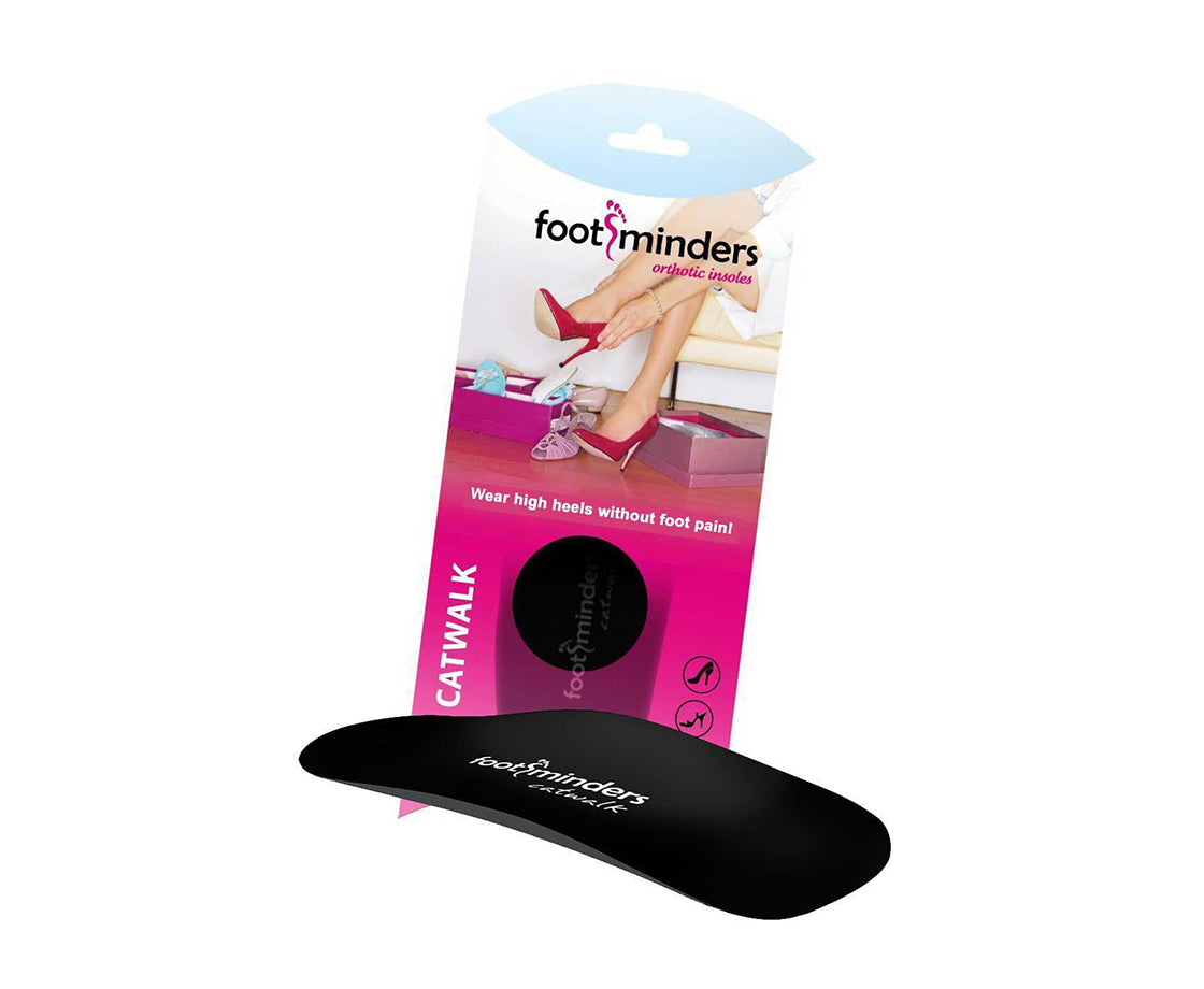 Footminders CATWALK - Orthotic arch support insoles for high-heel shoes