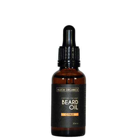 Certified Organic Beard Oil Citrus 30ml