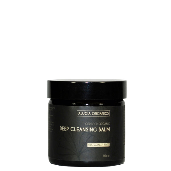 Certified Organic Deep Cleansing Balm Fragrance Free 50g
