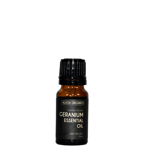 Certified Organic Geranium Essential Oil 10ml