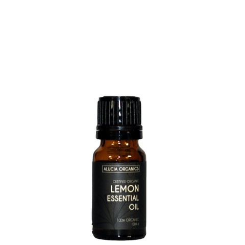 Certified Organic Lemon Essential Oil 10ml
