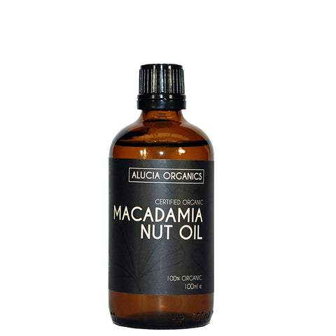 Certified Organic Macadamia Nut Oil 100ml