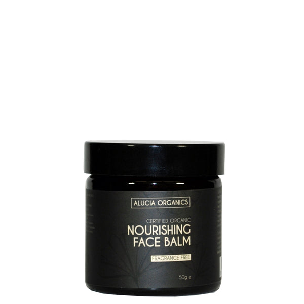 Certified Organic Nourishing Face Balm Fragrance Free 50g