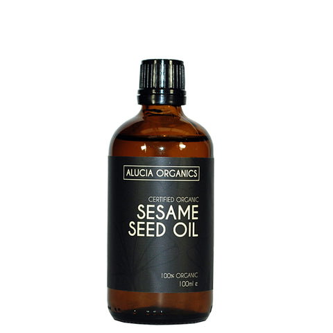 Certified Organic Sesame Seed Oil 100ml