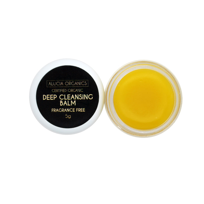 Organic Cleansing Balm fragrance free sample