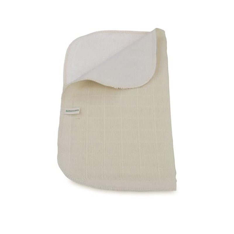 Organic Cotton Two Sided Face Cloth