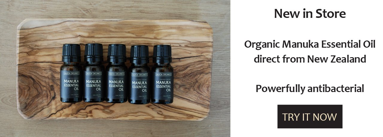 Organic Manuka Oil now in store