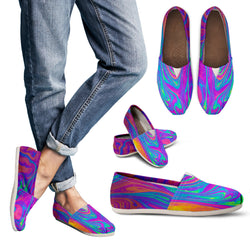 Psychedelic Women's Casual Shoes