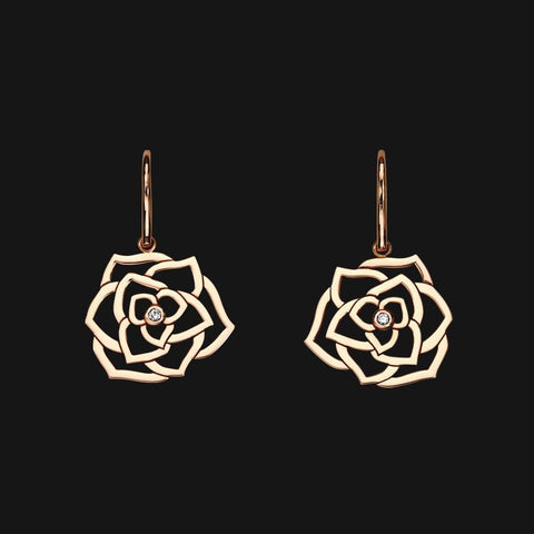 Matching 18k Wire Bloom Earrings - 50% Off