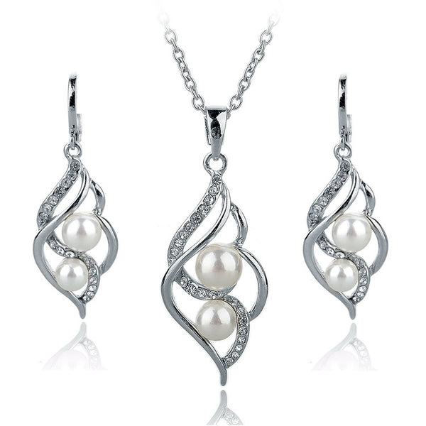 Fashion Earring & Necklace Set