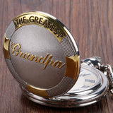 Greatest Grandpa Pocket Watch