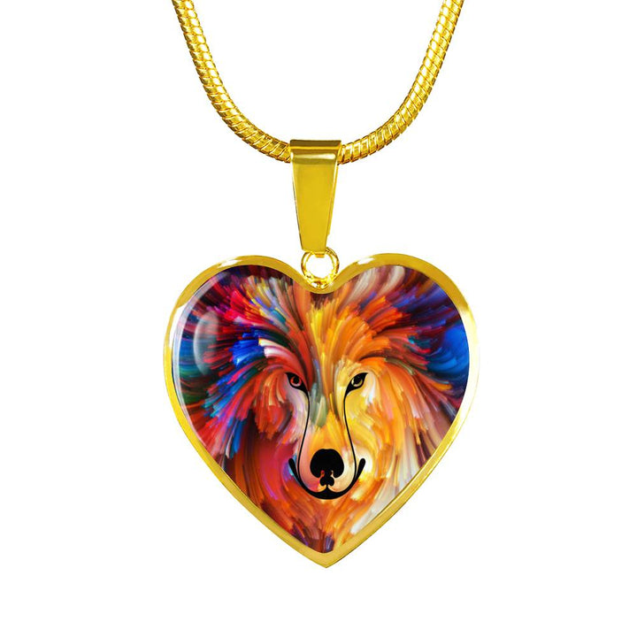 Beautiful Friend Luxury Heart Necklace